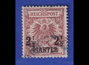 DAP Deutsche Post in der Türkei Mi.-Nr. 10c gestempelt gpr. Jäschke BPP