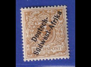 Deutsch-Südwestafrika Mi.-Nr. 1b ungebraucht * gpr. Jäschke BPP
