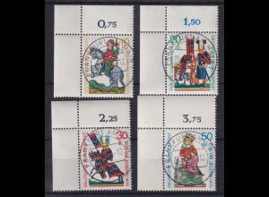 Wohlfahrt 1970 Minnesänger Eckrand-Satz oben links zentr. O FRANKFURT