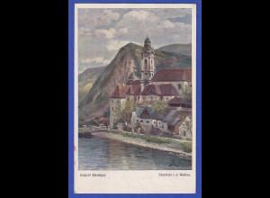 AK Österreich Dürnstein in der Wachau, gelaufen 1924