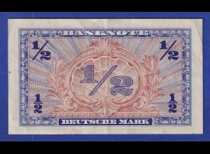 Banknote Deutschland EINE HALBE MARK SERIE 1948