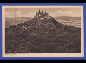 AK Burg Hohenzollern gelaufen 1925