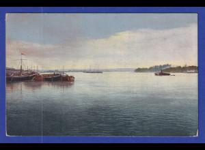 AK Russland Blick auf den Fluss Bjälaja gelaufen 1913 nach Mähren