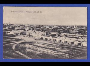 AK Russland Petropavlovsk gelaufen 1913 nach Mähren