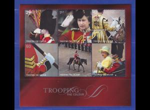 Großbritannien 2005 Blockausg. Flaggen- und Truppenparade Mi.-Nr. Block 25 **