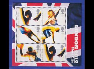 Großbritannien 2005 Blockausgabe Olympische Spiele London Mi.-Nr. Block 26 **