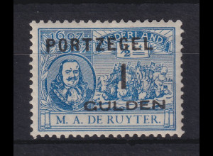 Niederlande 1907 Portomarken Mi.-Nr. 41 ungebraucht *