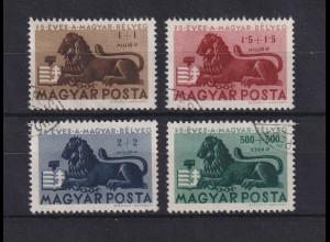 Ungarn Magyar 1946 75 Jahre ungarische Briefmarken Mi.-Nr. 893-896 gestempelt