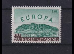 San Marino 1961 Europa Mi.-Nr. 700 postfrisch **