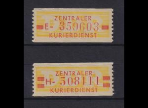 DDR Dienstmarken B Mi.-Nr. 18-19 N postfrisch **