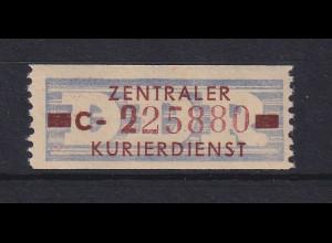 DDR Dienstmarke B Mi.-Nr. 20 C postfrisch **