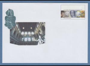 Deutschland 2007 Ganzsachen-Umschlag 50J. Dt. Bundesbank Farbfehldruck !