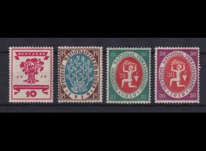 Dt. Reich 1919 Eröffnung der Nationalversammlung Mi.-Nr. 107-110 postfrisch **