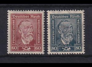Dt. Reich 1924 Freimarken Heinrich von Stephan Mi.-Nr. 362-363 postfrisch **