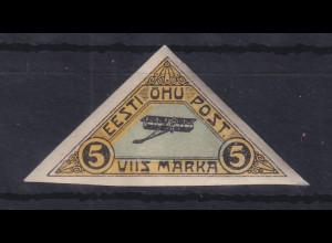 Estland 1920 Flugpostmarke Mi.-Nr. 14 ungebraucht *
