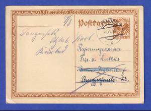 Österreich 1927 Sonder-Ganzsache Ludwig von Beethoven, O LERMOOS 1930