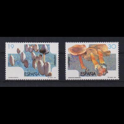 Spanien 1995 Pilze Mi.-Nr. 3199-3200 postfrisch **
