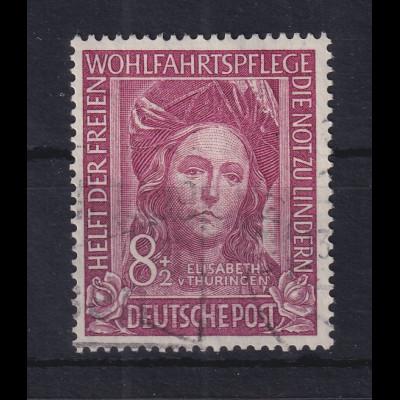 Bundesrepublik 1949 Wohlfahrtspflege Hl. Elisabeth Mi.-Nr. 117 gestempelt