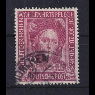 Bundesrepublik 1949 Wohlfahrt Hl. Elisabeth Mi.-Nr. 117 Stempel MÜNCHEN