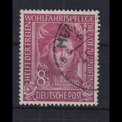 Bundesrepublik 1949 Wohlfahrt Hl. Elisabeth Mi.-Nr. 117 gestempelt