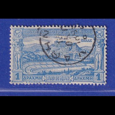 Griechenland 1896 Olymp. Spiele - Stadion 1 Dr Mi.-Nr. 104 gestempelt