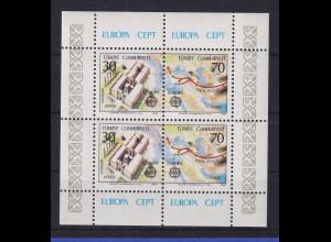 Türkei 1982 Europa - Historische Ereignisse Mi.-Nr. Block 21 postfrisch**