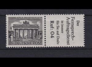 Berlin Bauten 1 Pf Reklame-Zusammendruck W 33 postfrisch **
