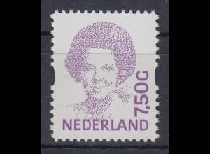 Niederlande Freimarke Königin Wilhelmine 7,50 G Mi.-Nr. 1530 **