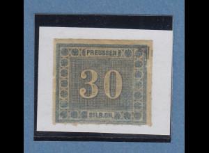 Altdeutschland Preußen Innendienst-Marke 30 Gr. Mi-Nr. 21 ungebraucht *