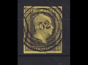 Preußen 3 Sgr Mi-Nr. 4a mit Ringnummernstempel 132 Birnbaum