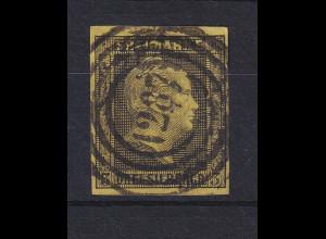 Preußen 3 Sgr Mi-Nr. 4a mit Ringnummernstempel 1287 Saarlouis