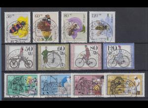 Bund Jugend 1984-1985-1986 u.a. Fahrräder alle mit Luxus-Voll-O SCHWEINFURT