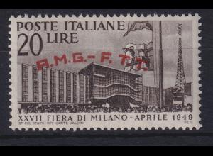 Triest Zone A 1949 Mailänder Messe Mi.-Nr. 63 postfrisch **