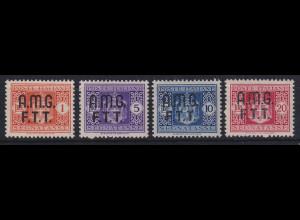 Triest Zone A 1947 Portomarken Mi.-Nr. 1-4 postfrisch **