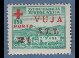 Triest Zone B 1948 Zwangszuschlagsportomarke Mi.-Nr. 1 postfrisch **