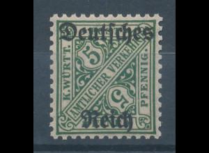 Deutsches Reich Dienstmarke Mi.-Nr. 57 **