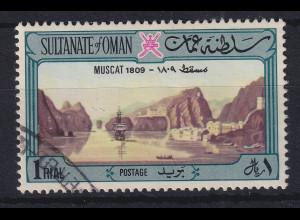 Oman 1972 Hafenansicht von Muscat Mi.-Nr. 152 gestempelt