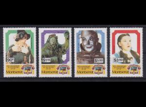 Montserrat 1989 50 Jahre Wizard of Oz Mi.-Nr. 750-753 postfrisch **