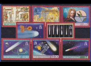 Montserrat 1986 Halleyscher Komet Mi.-Nr. 622-629 postfrisch **