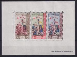 Laos 1963 100 Jahre Rotes Kreuz Mi.-Nr. Block 32 postfrisch **