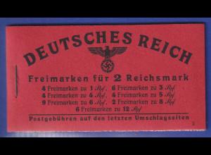 Dt. Reich 1941 Markenheftchen Mi.-Nr. 49.3 postfrisch **