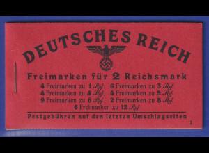 Deutsches Reich 1941 Markenheftchen Mi.-Nr. 49.3 postfrisch **