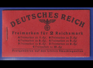 Deutsches Reich 1941 Markenheftchen Mi.-Nr. 48.3 postfrisch **