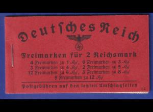 Deutsches Reich 1940/41 Markenheftchen Mi.-Nr. 39.4 postfrisch **