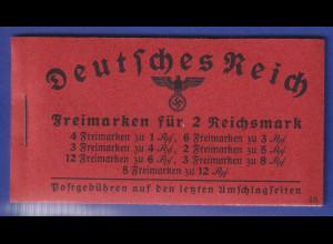 Deutsches Reich 1940/41 Markenheftchen Mi.-Nr. 39.5 postfrisch **