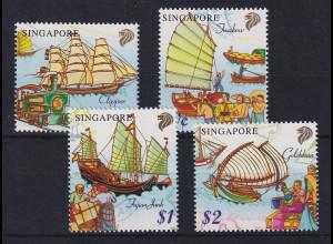 Singapur 1999 Schiffe Mi.-Nr. 936-939 postfrisch **