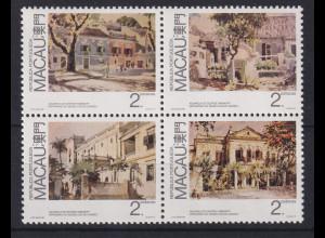 Macau 1989 Gemälde Mi.-Nr. 616-619 postfrisch **