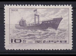 Korea Nord 1969 Hochsee-Frachter Mi.-Nr. 930 ungebraucht (*)