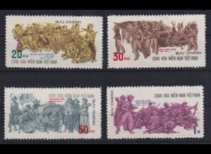 Vietnam Vietcong 1971 Vereinigte Streitkräfte Mi.-Nr. 35-38 ungestempelt (*)