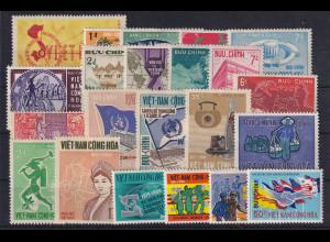 Vietnam Süd Lot mit 22 Werten postfrisch **